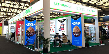 SIAL-country pavilion construction-LIETUVA,stands building service